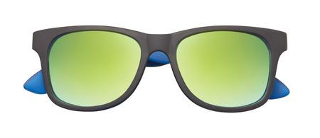 gafas de sol: Gafas de sol aislados en el fondo blanco Foto de archivo