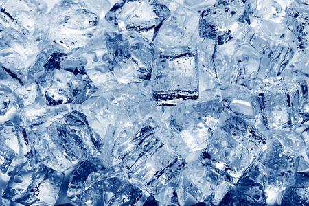 アイス キューブのクローズ アップの背景