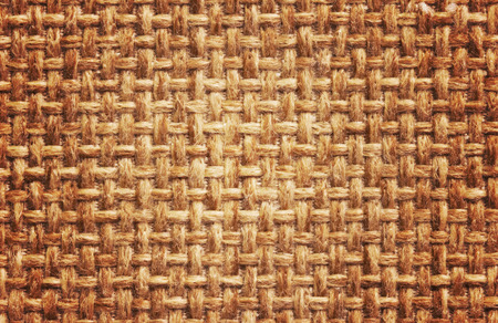 fibra: Natural burlap background, close up