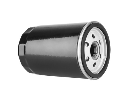 lubricate: Oil Filter isolated on the white background
