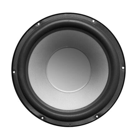 Subwoofer Speaker isolated on white background