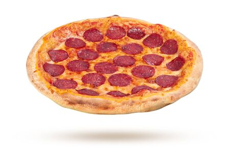 Pizza isolated on a white background Stock fotó