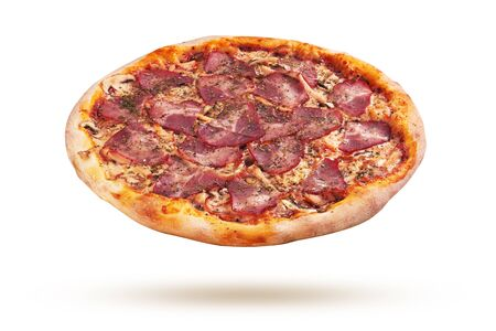 Pizza isolated on a white background