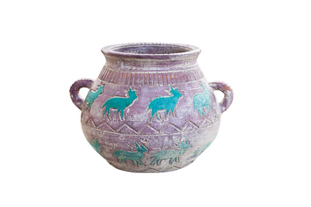 carve: carve ancient vase
