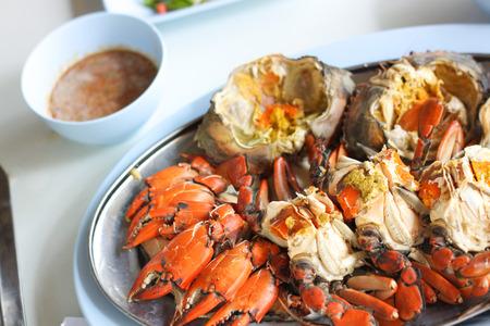 quemado: Quemado Cangrejo Mar Huevo