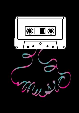 audio cassette: Music from Cassette