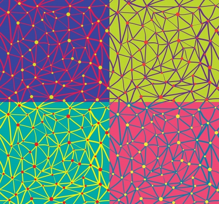 dot to dot pattern Vector