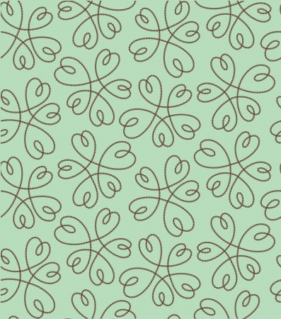 flower heart pattern Vector