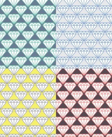 Diamond Pattern 01 Vector
