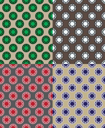 espejismo: Modelo del diamante 02 Vectores