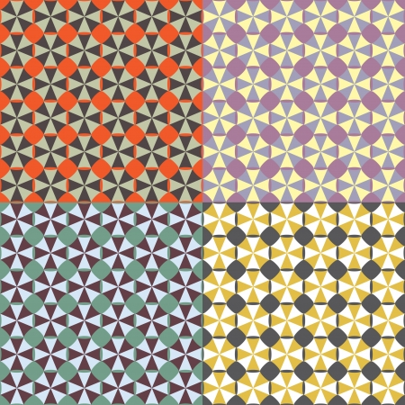 Geometric Tile Vector