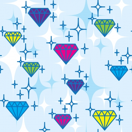 jewel pattern  Vector