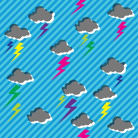 nu: New Rave Sky  Illustration
