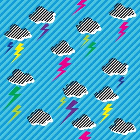 rave: New Rave Sky  Illustration