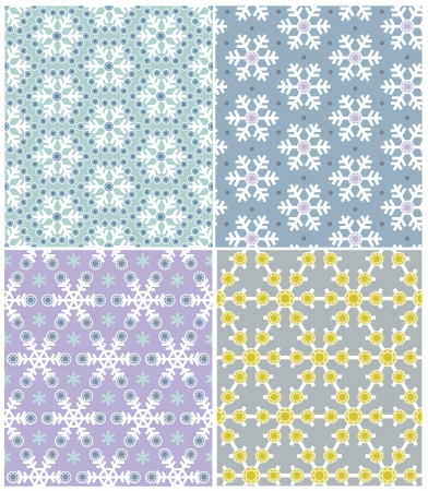 Snowflake Pattern Stock Vector - 23236903