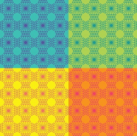 03: Diamond pattern 03 Illustration