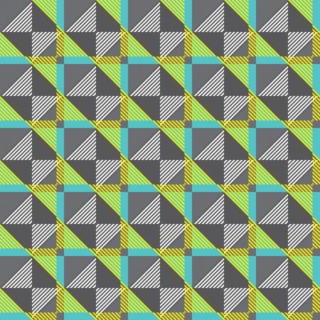 nu: geometric pattern