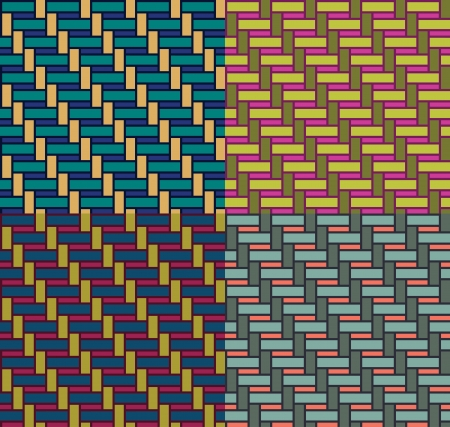 basketwork pattern   Vector