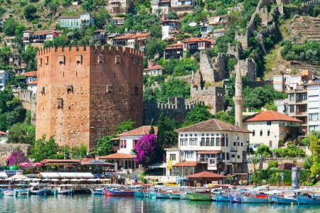 The Turkish city of Alanya