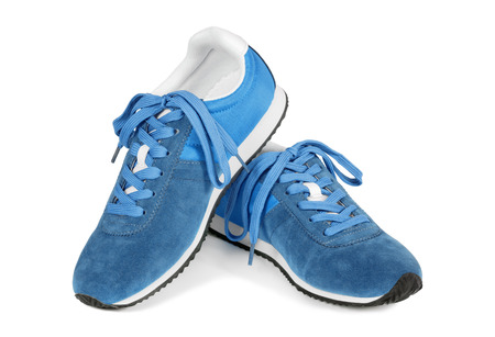 Running shoes isolated on white. Casual style sneakers.