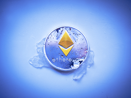 The ethereal ETH bitcoin is derived from the melted snow