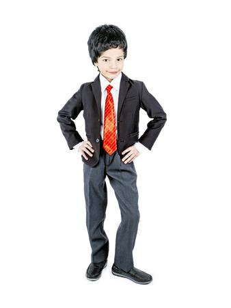 fashionable little boy.stylish kid in suit. fashion children