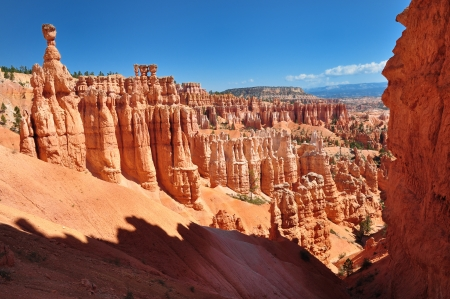 Panorama of Bryce Canyon NP, Utah, USA Stock Photo