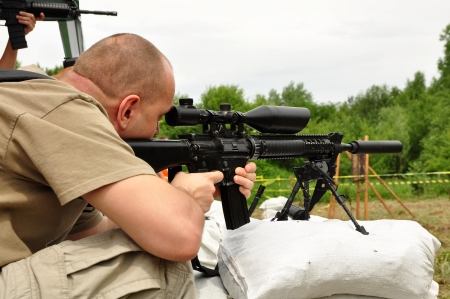 Sniper training photo