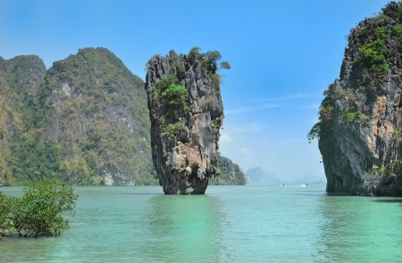crag: Phang Nga Bay, James Bond Island, Thailand