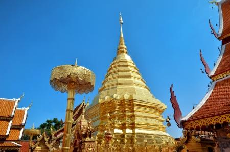doi: Wat Phrathat Doi Suthep Temple In Chiang Mai Thailand
