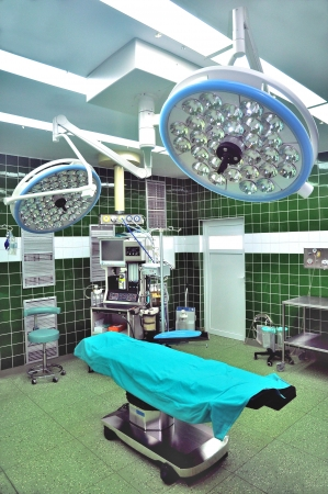 Clean Hospital operating room with equipment