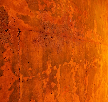 Rusty wall background Stock Photo