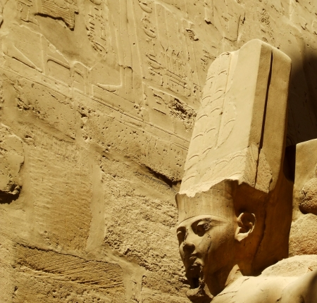 scribes: Ancient Egyptian sculpture and script