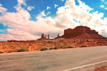 Monument Valley Arizona Stock Photo