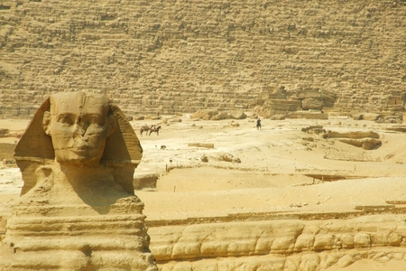 Great Sphinx in Giza photo