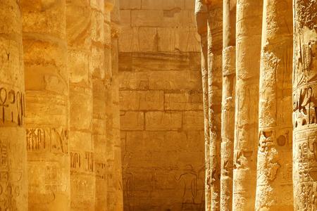 scribes: Antico scena egiziana e sceneggiatura Archivio Fotografico