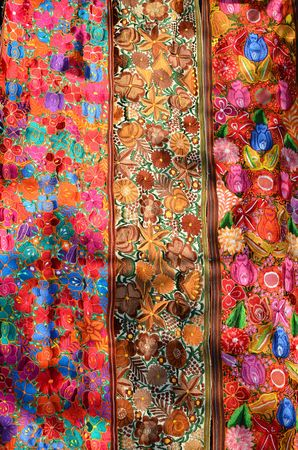 Traditional handmade mwxican fabric