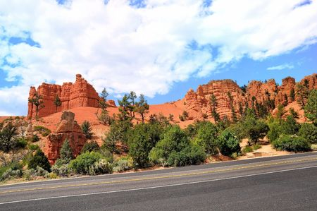 red canyon route USA
