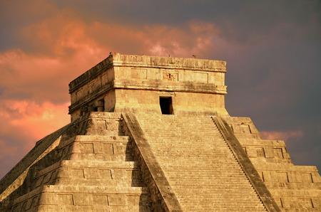 kukulkan: Chich�n Itz� Pir�mide de Kukulk�n templo M�xico