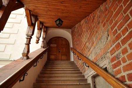 Stairway in Sandomierz Castle