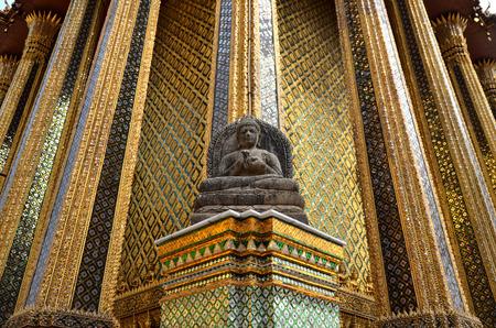 budda: Stone budda in Royal Palace Bangkok Thailand Wat Phra Kaew