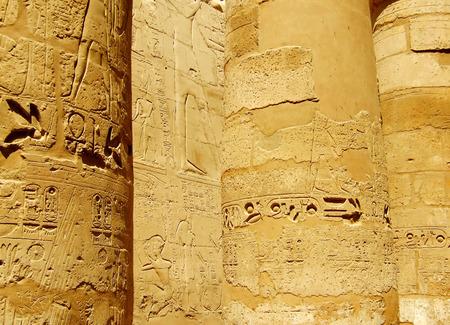 scribes: Ancient scena egiziana e sceneggiatura Archivio Fotografico