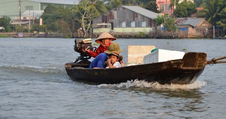 rang: the most common transportation mean of rural people in Mekong delta Vietnam Editorial
