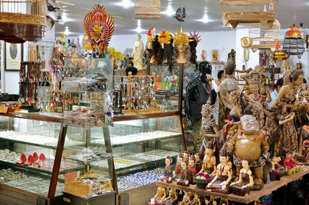 YOGYAKARTA: Famous souvenirs at Yogyakarta Market Indonesia Editorial