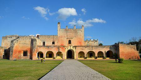 Convent in Valladolid, Mexico