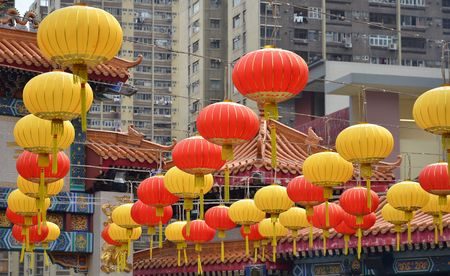 Wong Tai Sin Hong Kong March 2018 Wong Tai Sin Stock Photo