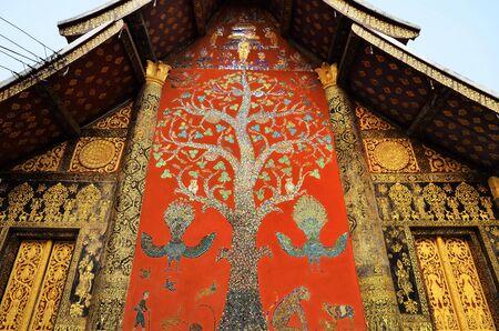 Wat Chiang Tong in Laos