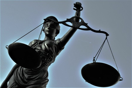 personification: Justitia is a personification of justice