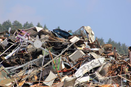 Waste products are recycled during recycling (waste recycling)