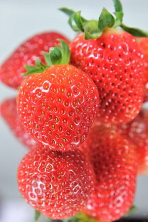 Strawberry Close_up / From strawberries you can conjure up delicious healthy things.